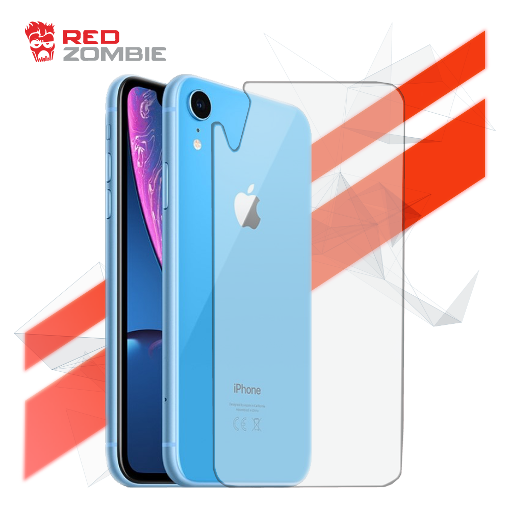 Apple iPhone XR Back , Tempered Glass Screen Protector
