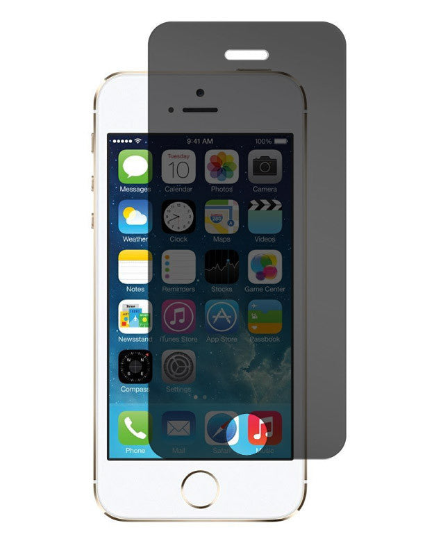 the best attitude 873c9 8b0c9 Apple iPhone 5/5C/5S/SE - Privacy Glass Screen Protector