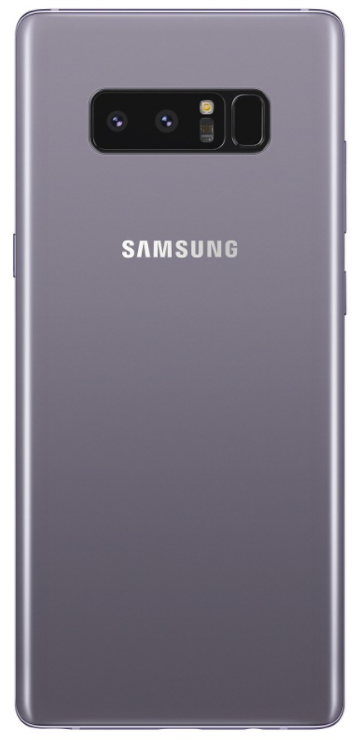 Screen Note Protector Black - Glass 8 Back Samsung