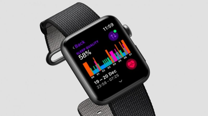 best service 2b9d9 2d5d1 Apple Watch 44mm Series 4 - 3D/Curved - Full Adhesive - Glass Screen  Protector