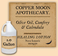Bulk 1 Gallon Olive Oil, Comfrey & Calendula Lotion