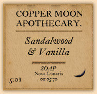 Sandalwood & Vanilla Soap