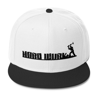 Mens Hard Wurk Wool Blend Snapback