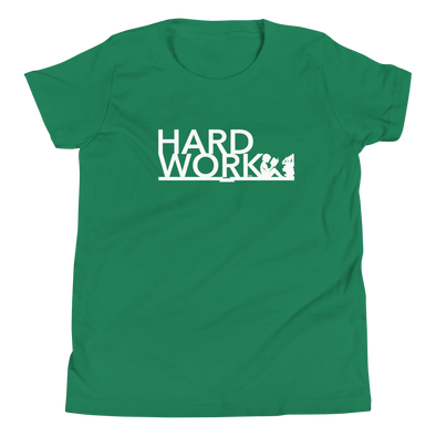 Boys Hard Work-EDU T-Shirt (6yrs/12yrs)