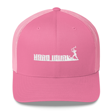 Womens Hard Wurk Retro Trucker Cap