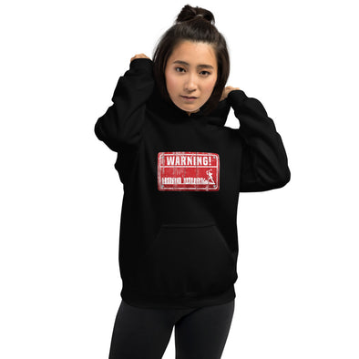 Womens WARNING Hard Wurk Hoodie