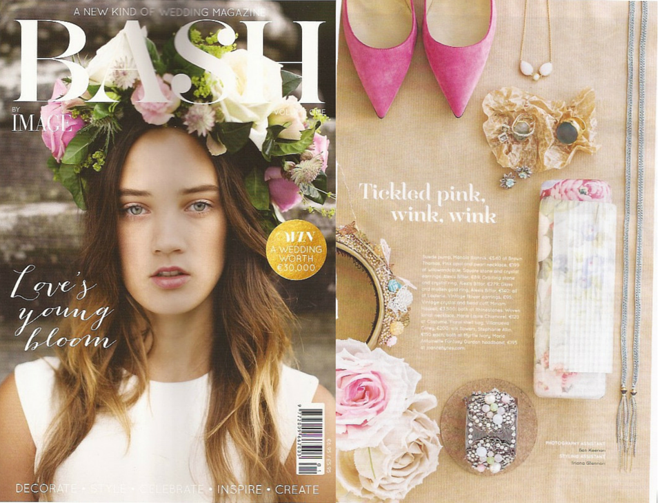 Willow & Clo featured in Bash Magazine bridal accessories