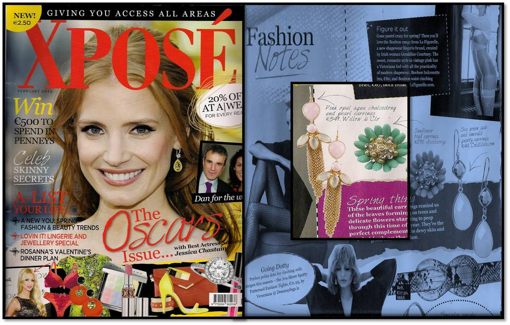 Willow & Clo featured in Xpose magazine