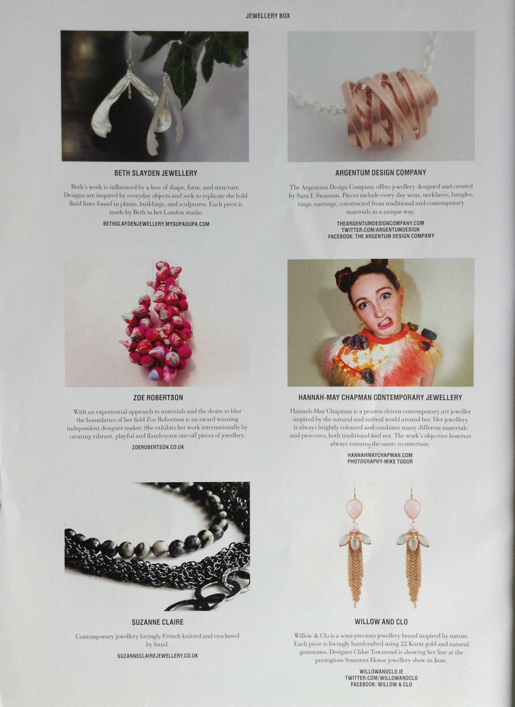Willow & Clo featured in Urban Coco Jewellery Box