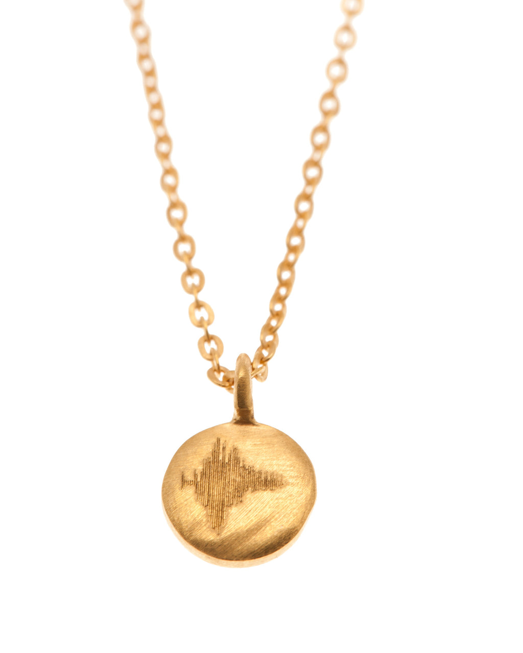 Gold Dream Small Disc Necklace