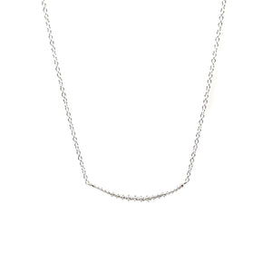Silver Line Necklace