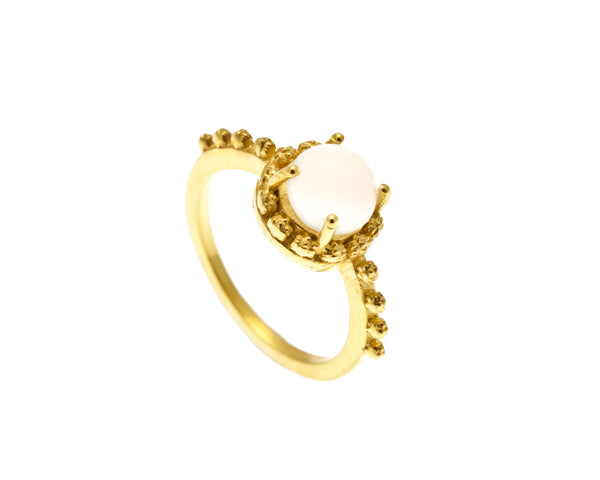 Lava Moonstone Ring