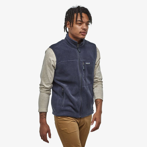 Men's Classic Synchilla® Fleece Vest in New Navy