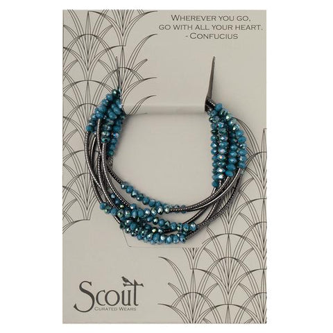 Scout Wrap: Peacock/Hematite