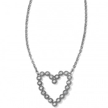 Twinkle Floating Heart Necklace