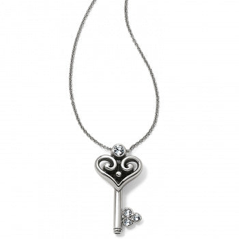 Alcazar Heart Key Necklace