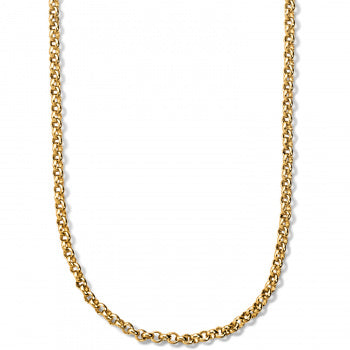 Vivi Delicate Petite Charm Necklace Gold Color