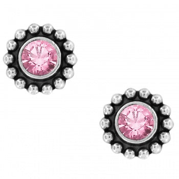 Twinkle Mini Post Earrings Rose