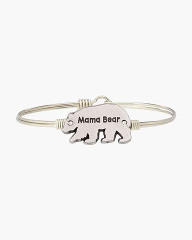 Luca & Danni Mama Bear Bangle Bracelet
