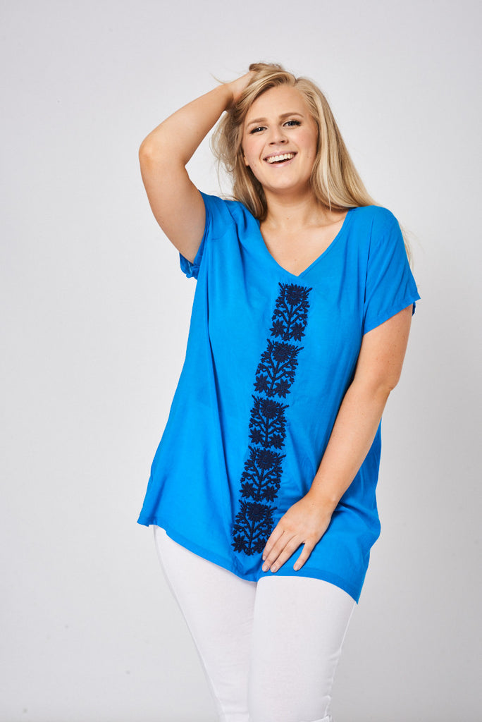 tunic top plus size