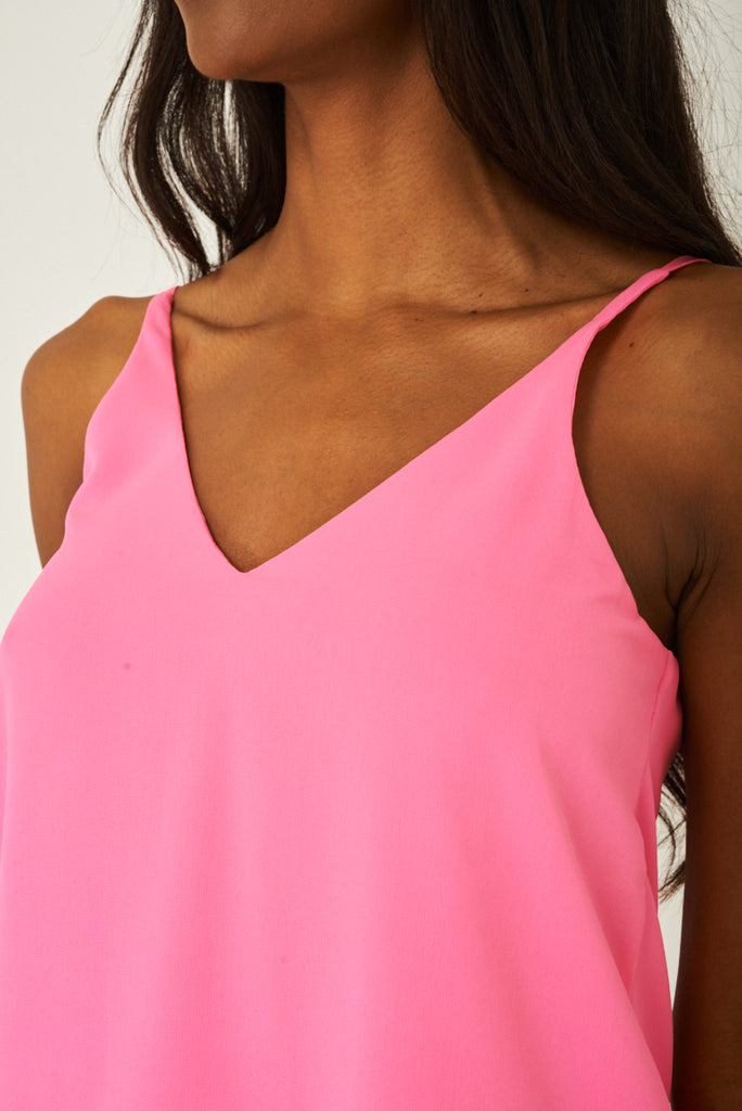Cami Top In Pink