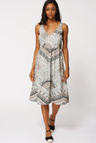 Abstract Print Summer Dress Ex-branded