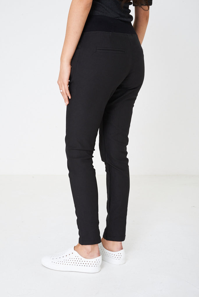 Casual Black Trousers