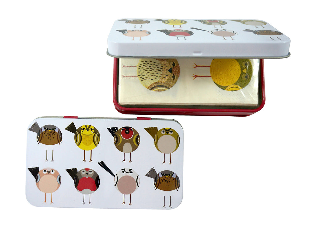 Soul Birds Handbag Tissue Box and Cute Printed Tissues
