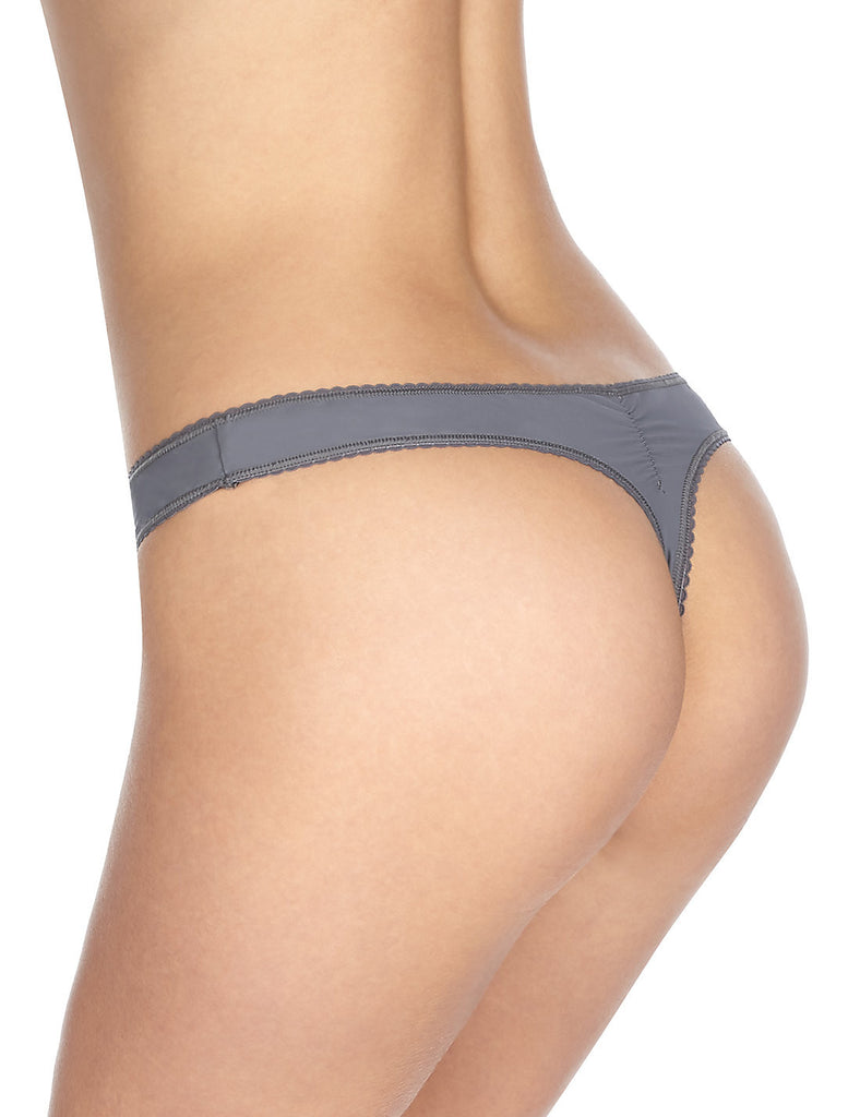 M&S Marks and Spencer Ornate Lace Thong Black Coral Grey Sizes 6-18