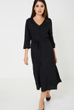 Bik Bok Black Slinky Feel Maxi Dress-black-xs/s - Uk (8-10)