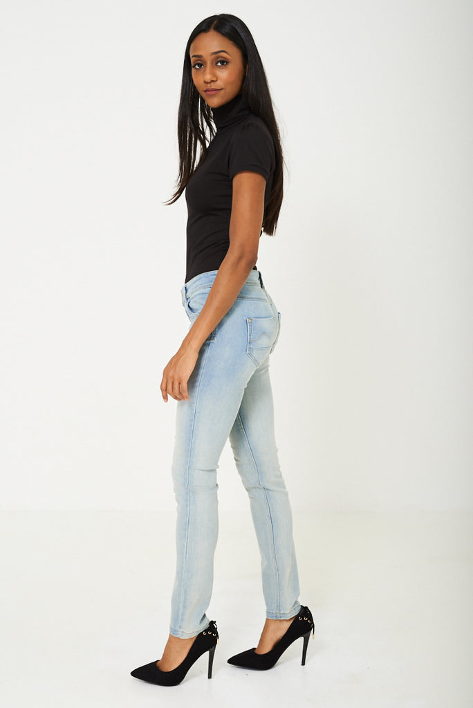 Blue Distressed Jeans Ex Branded