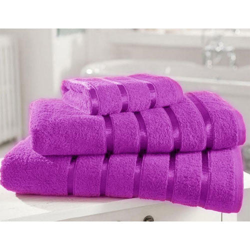 6 Pack of Egyptian Cotton 500GSM Hand Towels in a Variety of Colours