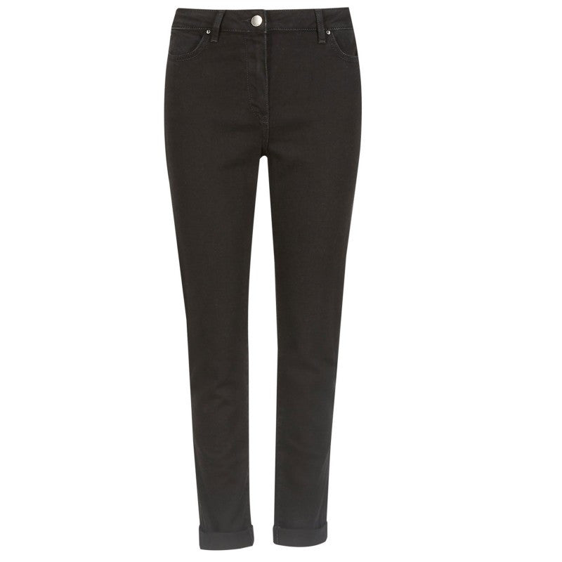 Marks & Spencer M&S Black Grey or Khaki Relaxed Skinny Fit Jeans Sizes 8 - 22