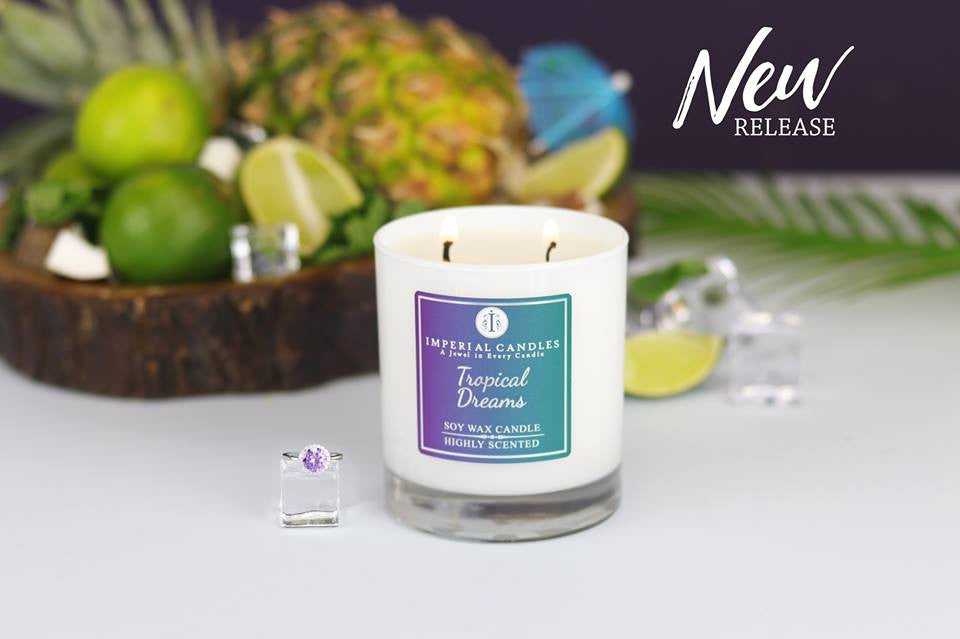 Imperial Candles Deluxe 70hr Soy Candle Multiple Scents  & Surprise Jewel £10-£2000