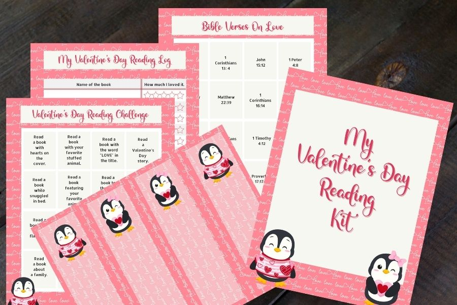 16 Day Valentine's Day Reading Pack