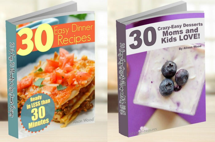 Easy Dinner and Dessert Bundle -- save $2!