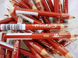 Winks Lip Liner Pencils Red