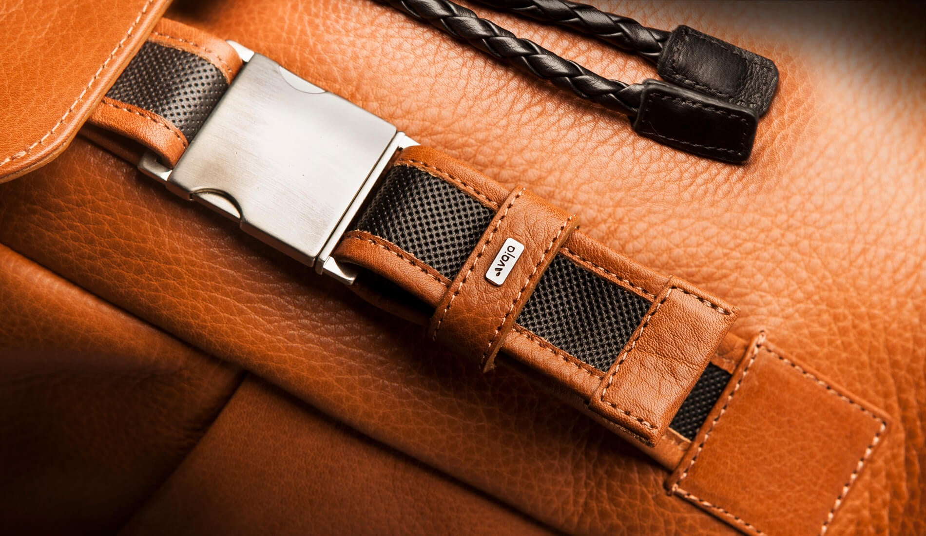 explorer premium leather backpad