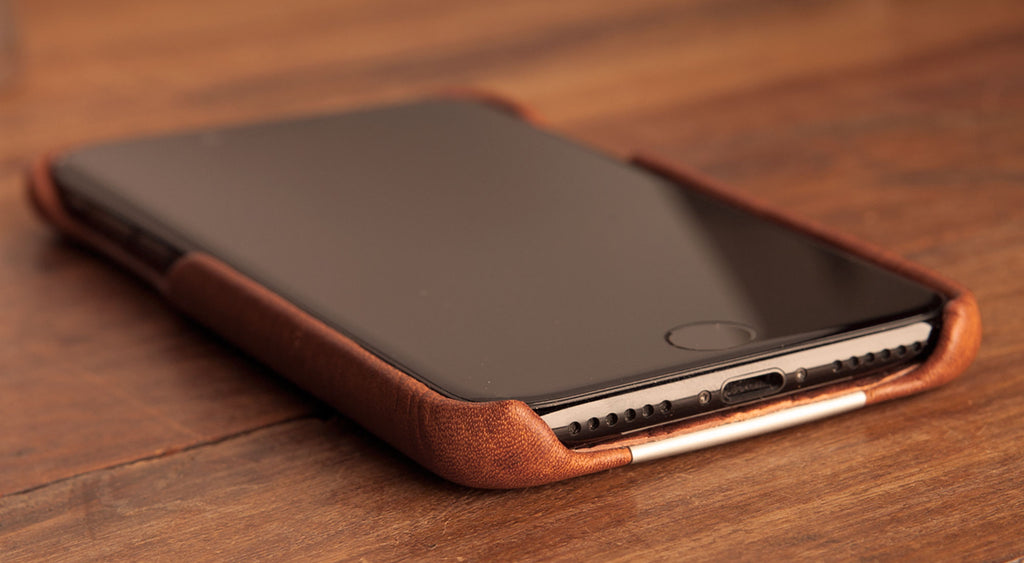 Grip Leather case for iPhone 7 plus 11