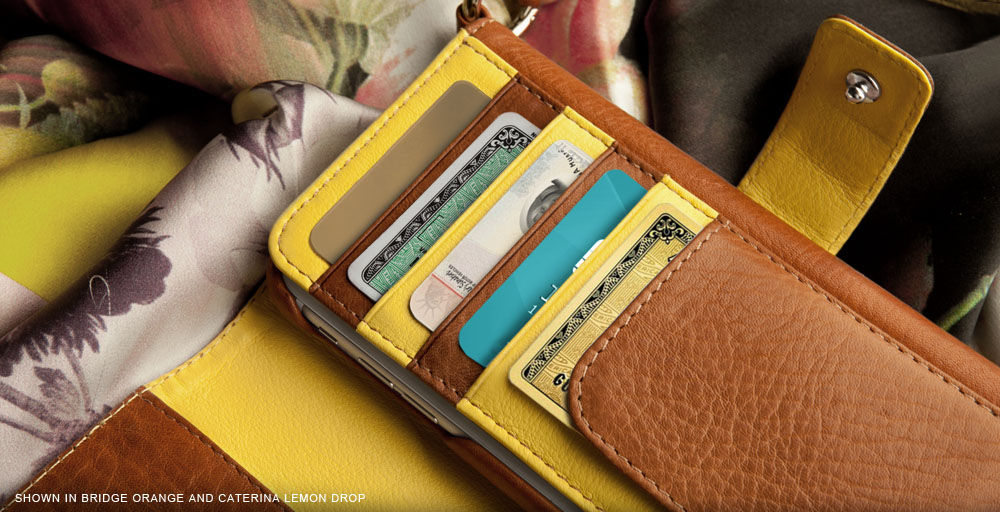 iPhone 6/6s Plus leather Wallet with detachable case