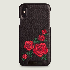 Grip Amy for iPhone X Leather Case - Vajacases