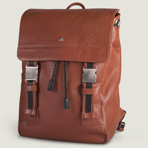 Explorer Leather Backpack