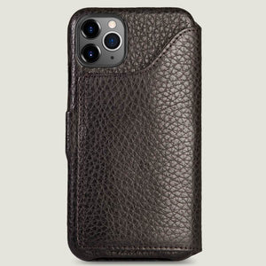 Folio Wallet Stand iPhone 11 Pro Max leather case - Vaja