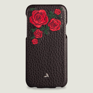 Top Amy for iPhone X Leather Case - Vajacases