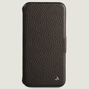 Folio iPhone 11 Pro Max leather case - Vaja