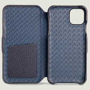 Folio iPhone 11 Pro leather case - Vaja