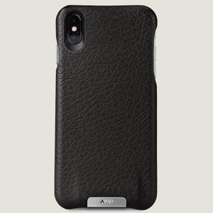 Grip - iPhone XS Max Leather Case - Vajacases