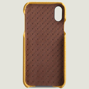 Grip - iPhone Xs Max Leather Case