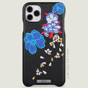 Kimono Grip iPhone 11 Pro Max Leather Case - Vaja