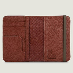 Alfa Leather Passport Holder